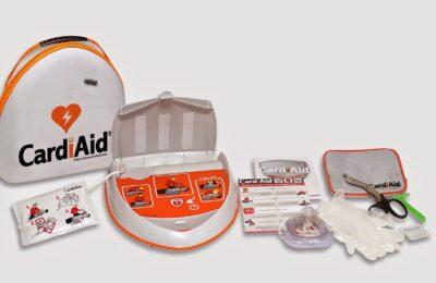 Defibrillator im Stadion
